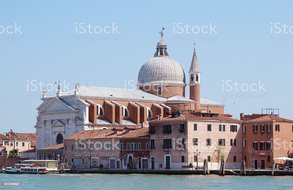 San Giorgio Maggiore in Venice royalty-free stock photo