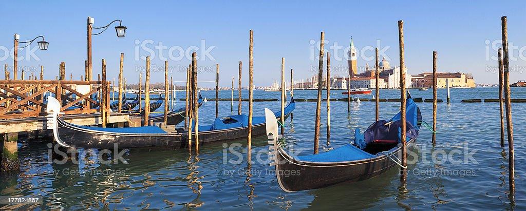 San Giorgio Maggiore island in Venice royalty-free stock photo