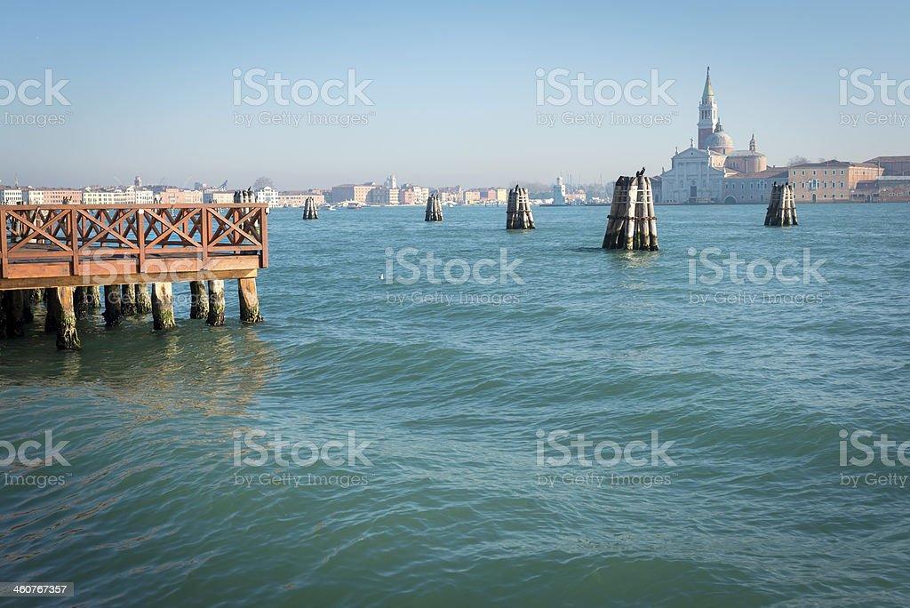 San Giorgio Maggiore Island Venice, Italy, Europe royalty-free stock photo