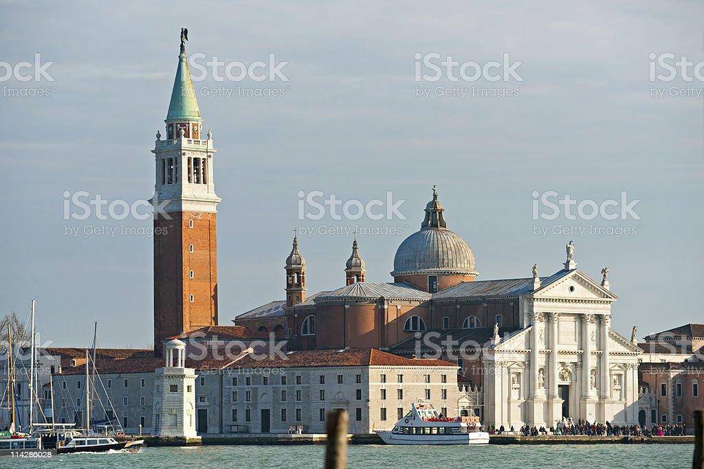 San Giorgio Maggiore, Venice, Italy. stock photo