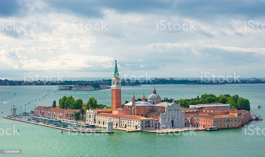 San Giorgio Maggiore, Venice, Italy royalty-free stock photo