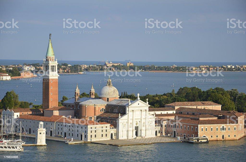 San Giorgio Maggiore - Venice, Italy royalty-free stock photo