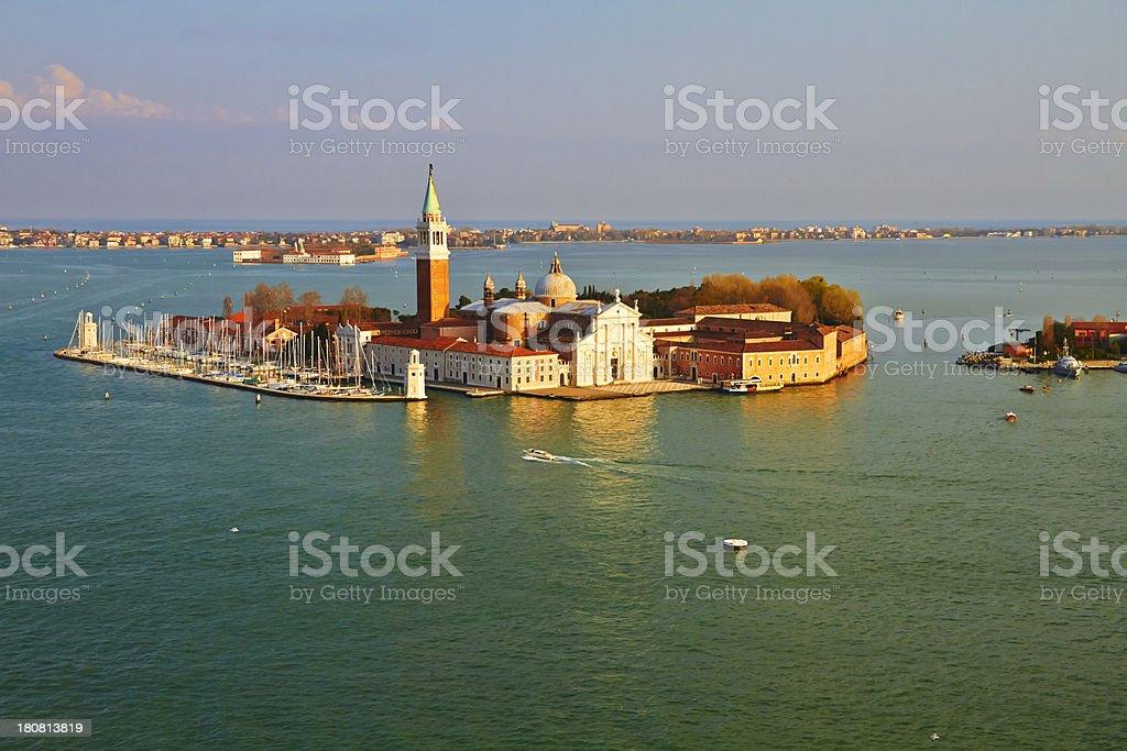 San Giorgio Maggiore, Venice. royalty-free stock photo