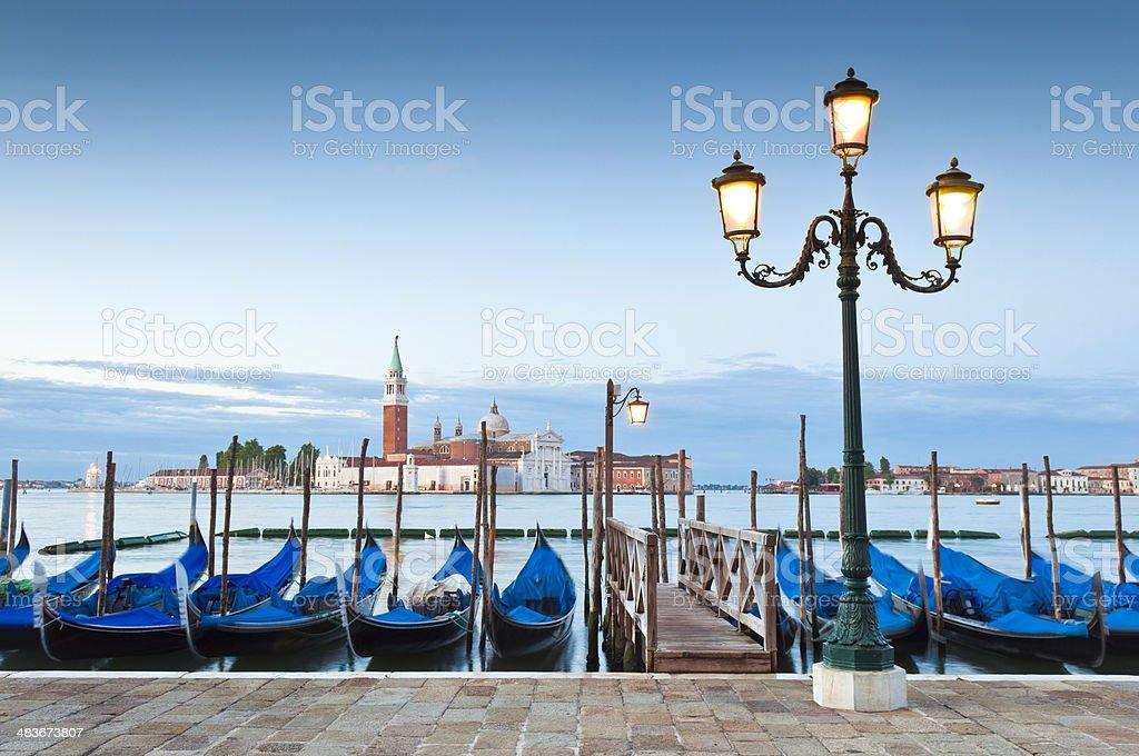 San Giorgio, Venice stock photo
