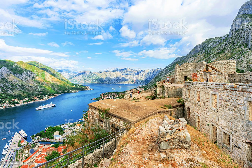 San Giovanni ancient ruins stock photo