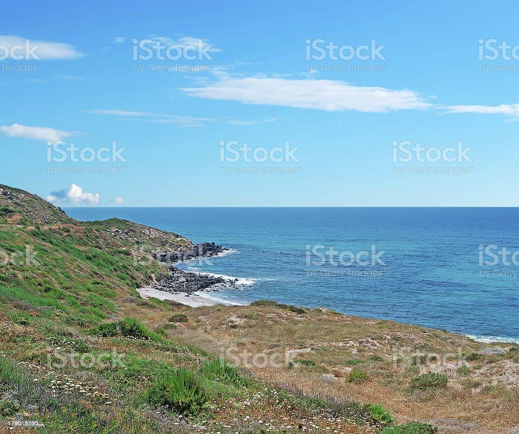 San Giovanni coast royalty-free stock photo