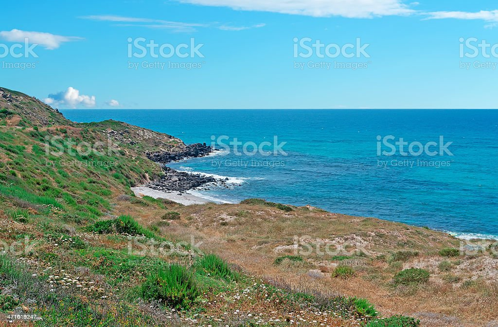 San Giovanni coast royalty-free stock photo