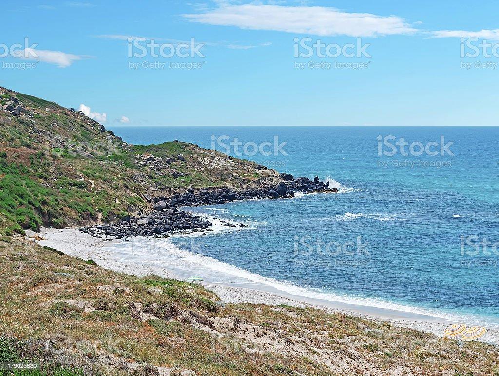 San Giovanni shoreline royalty-free stock photo