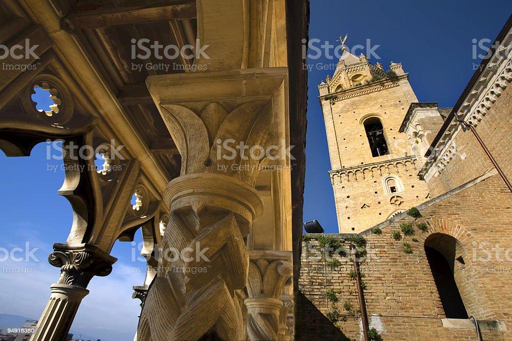 San Giustino a Chieti royalty-free stock photo