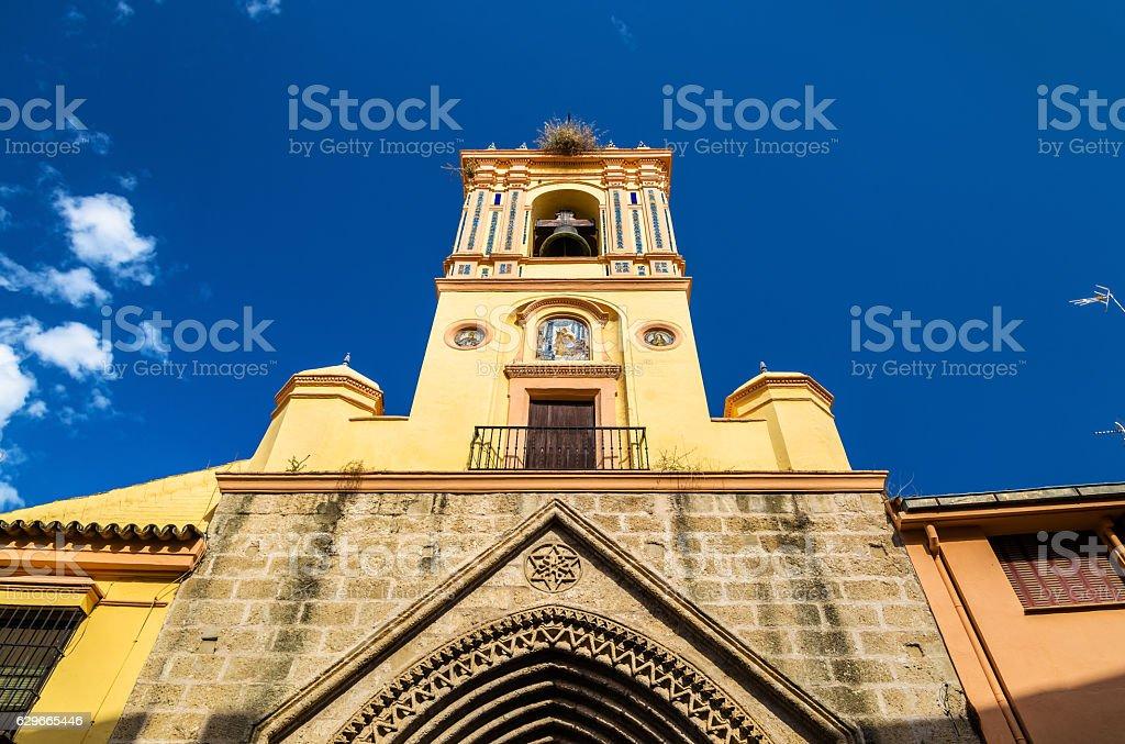 San Isidoro Church in Seville, Spain stock photo