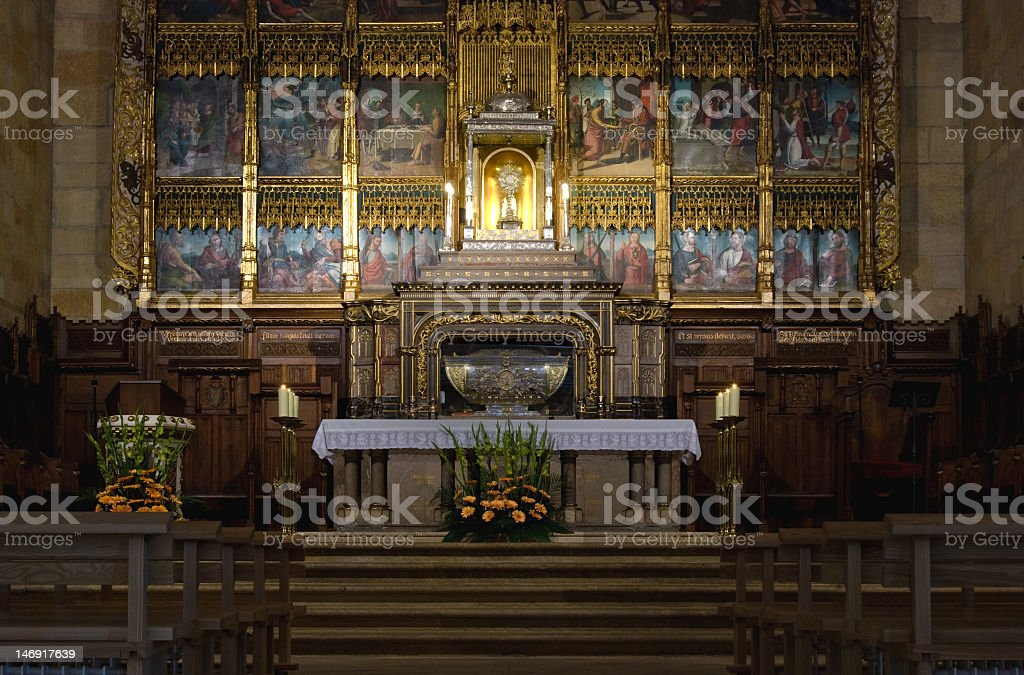 San Isidoro Church, León, Spain. royalty-free stock photo