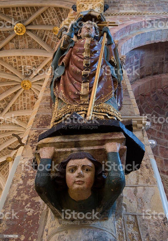 San Isidoro sculpture royalty-free stock photo