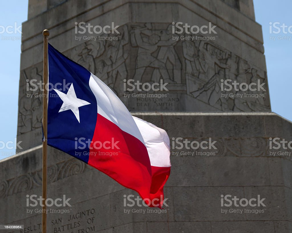 San Jacinto Battleground stock photo