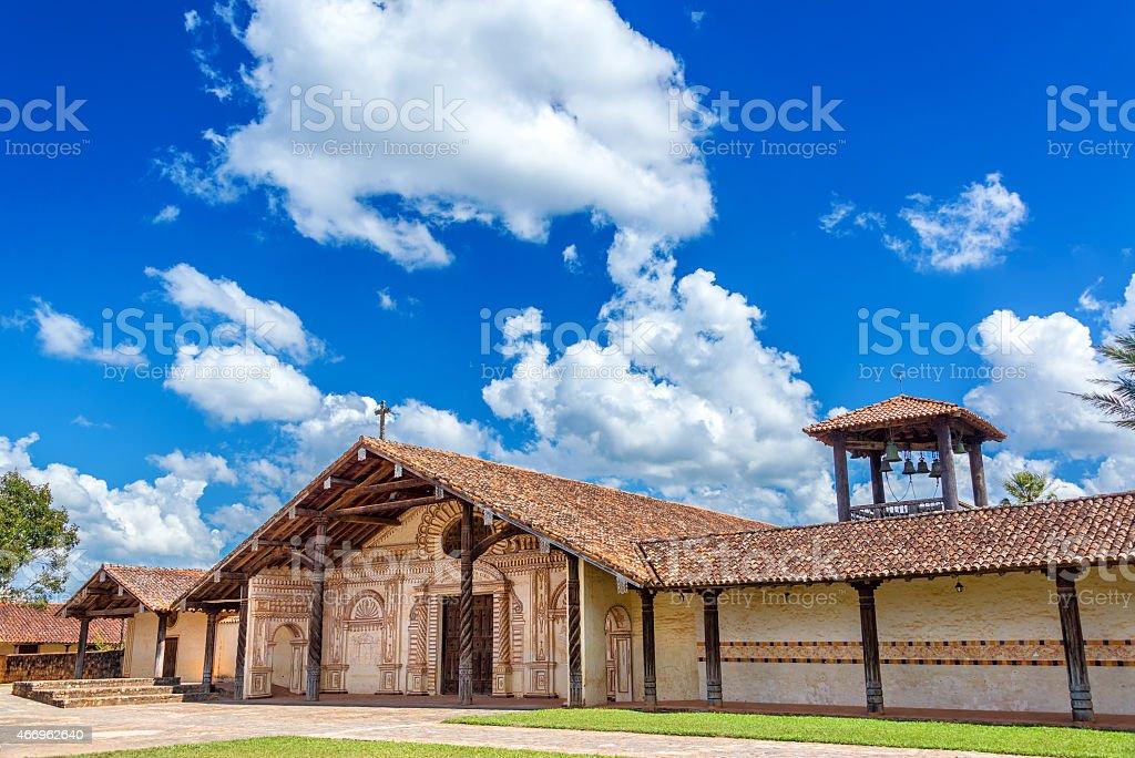 San Javier, Bolivia Church stock photo