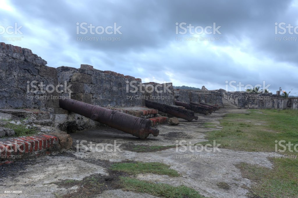 San Jeronimo Fort stock photo