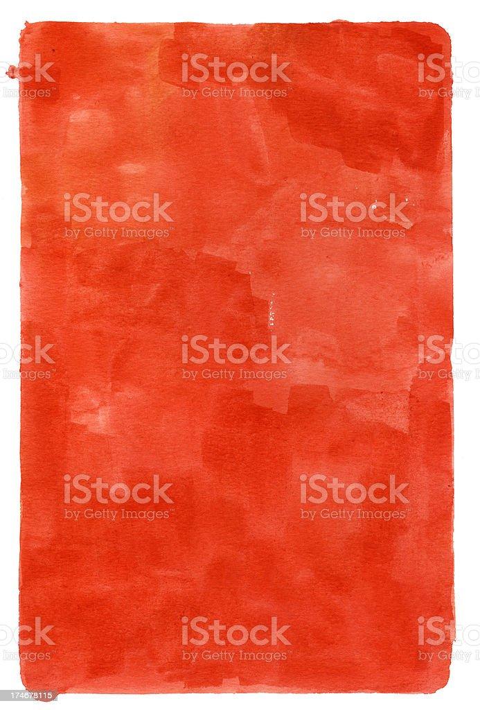San Jorge Red Frame royalty-free stock photo