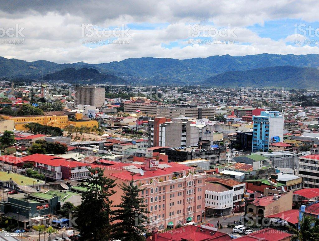 San José, Costa Rica: city center stock photo