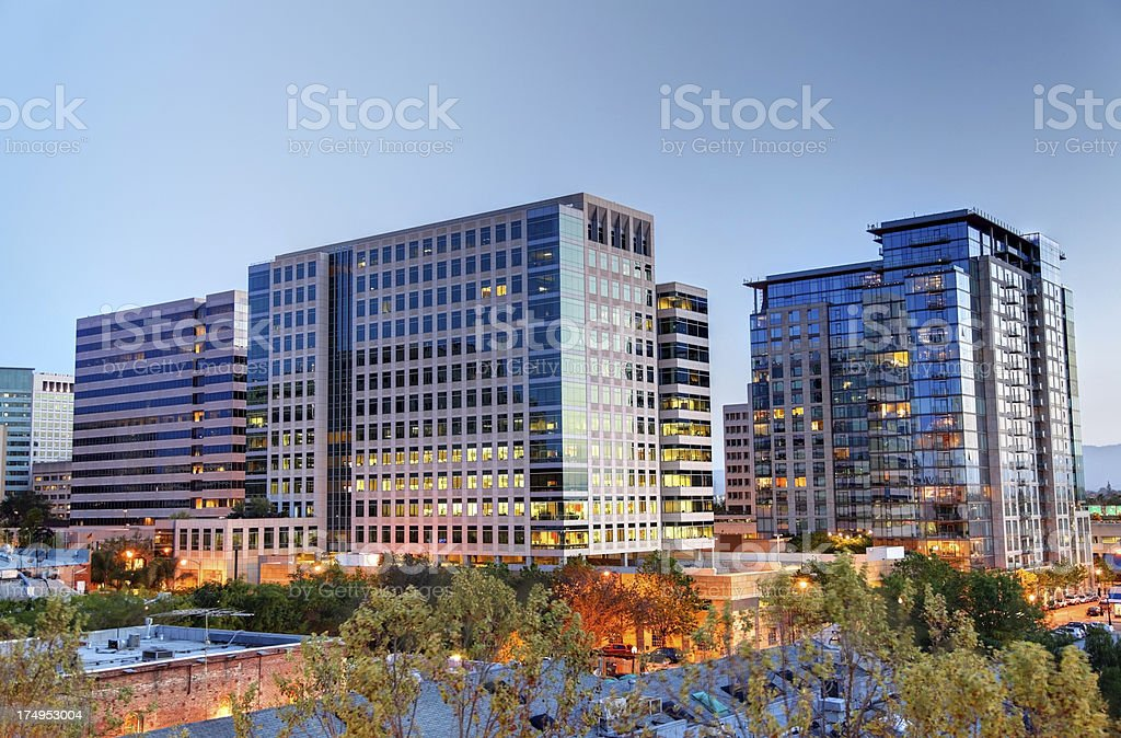 San Jose California royalty-free stock photo