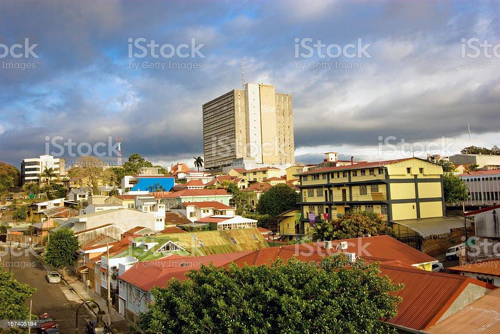 San Jose, Costa Rica royalty-free stock photo