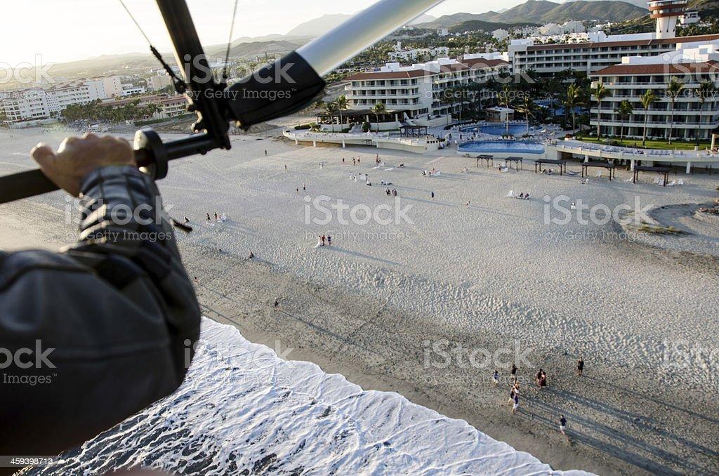 San Jose del Cabo Beach Flight stock photo