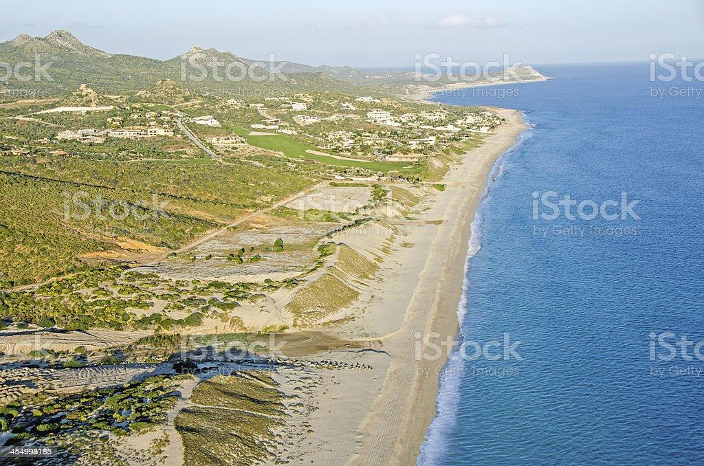 San Jose del Cabo Marina Area and Beach stock photo