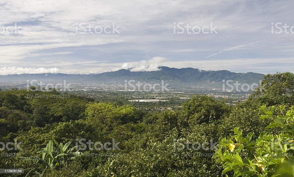 San Jose Panorama royalty-free stock photo