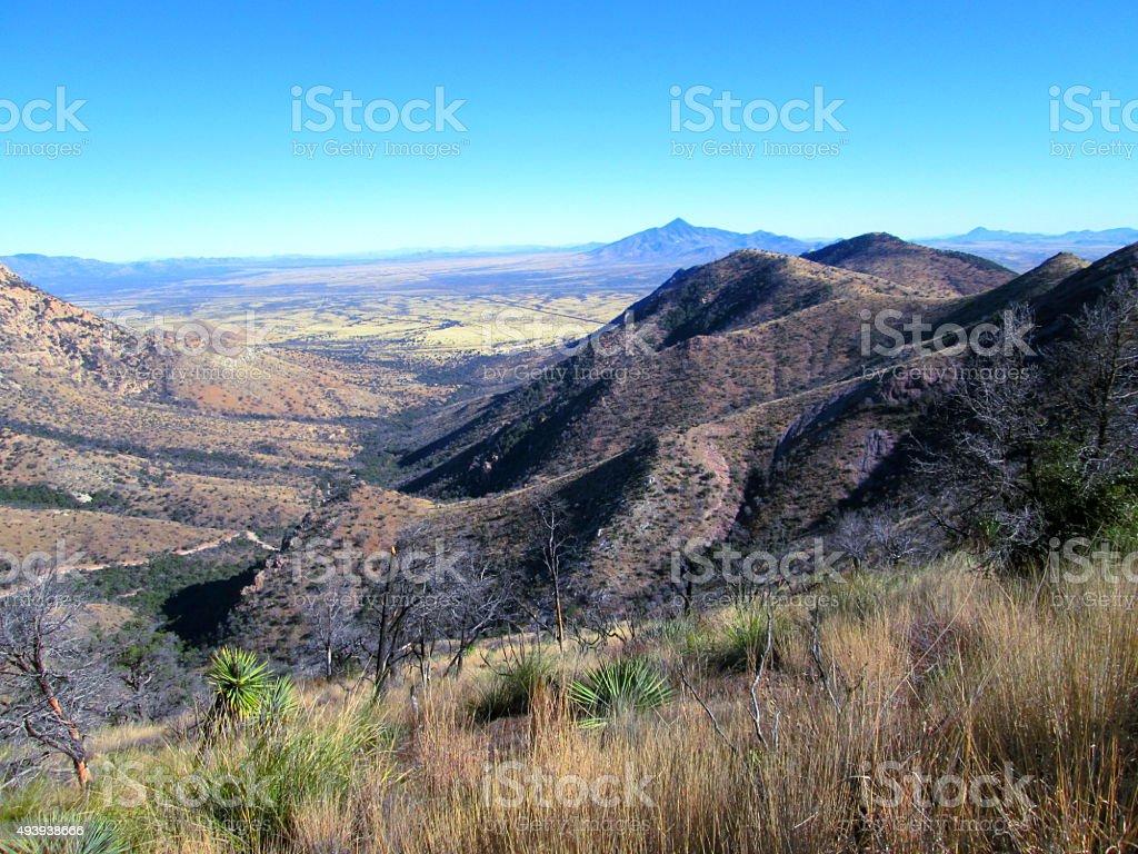 San Jose Peak stock photo