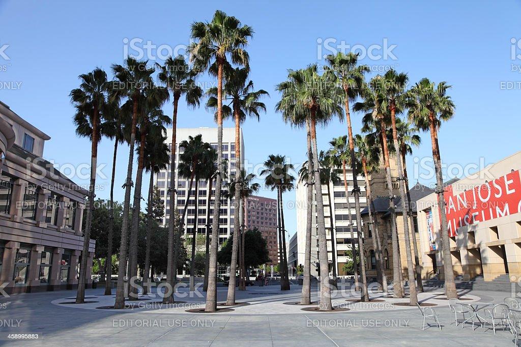San Jose royalty-free stock photo