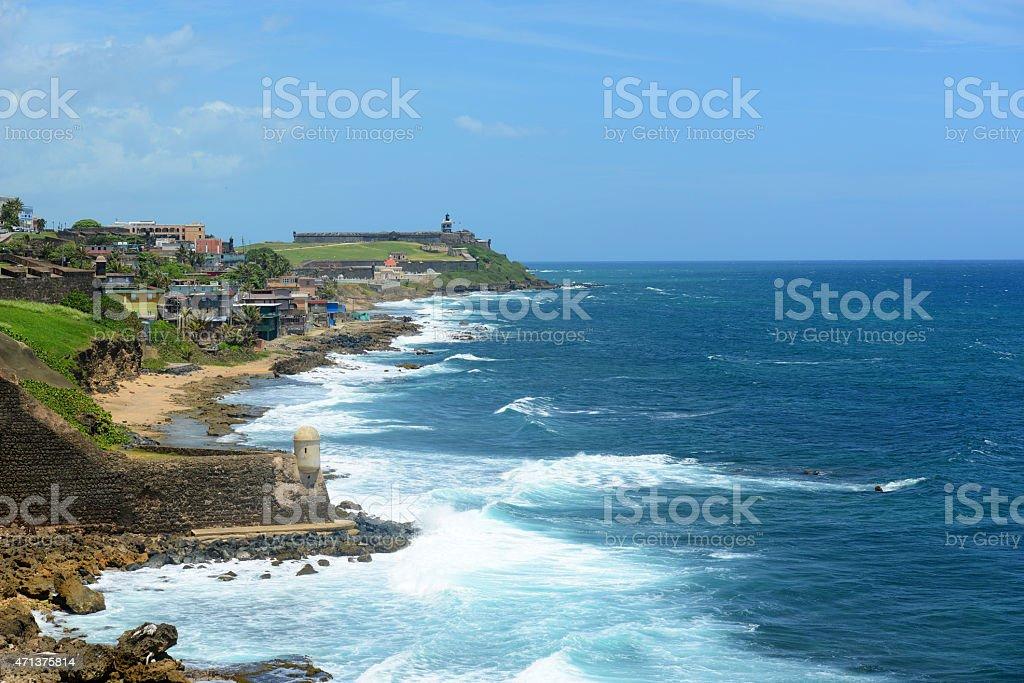 San Juan Castillo San Felipe del Morro El Morro stock photo