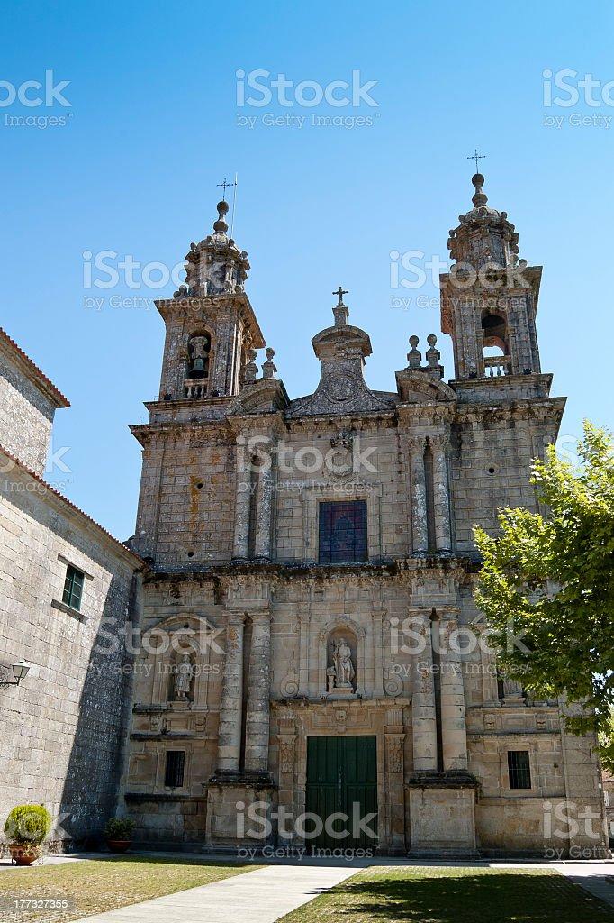 San Juan de Poio Monastery royalty-free stock photo
