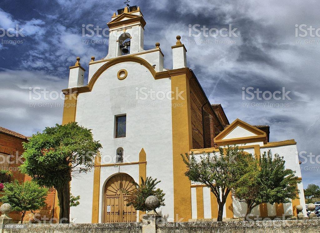 San Juan de Sahagun church royalty-free stock photo