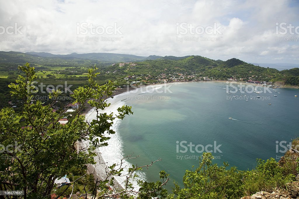 San Juan del Sur Beach Nicaragua stock photo