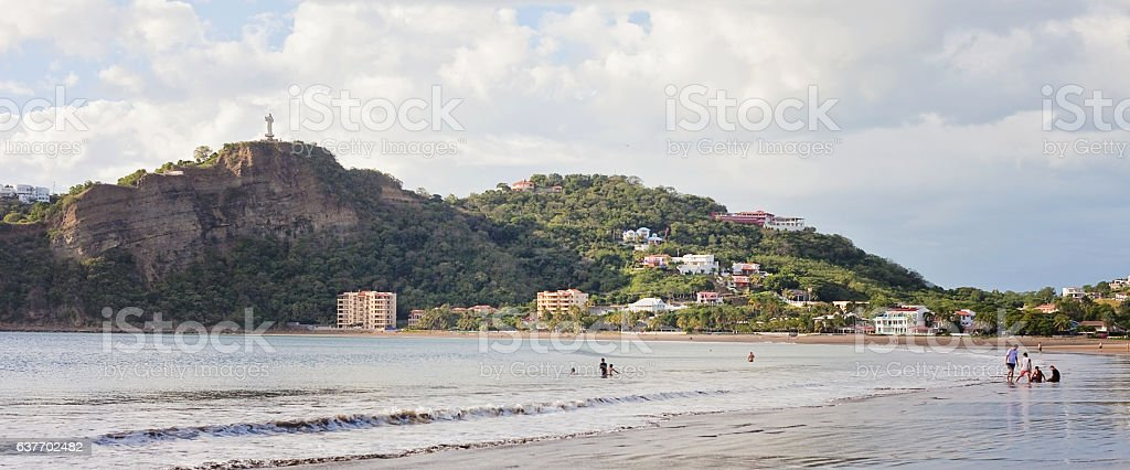 San Juan del Sur Beach stock photo