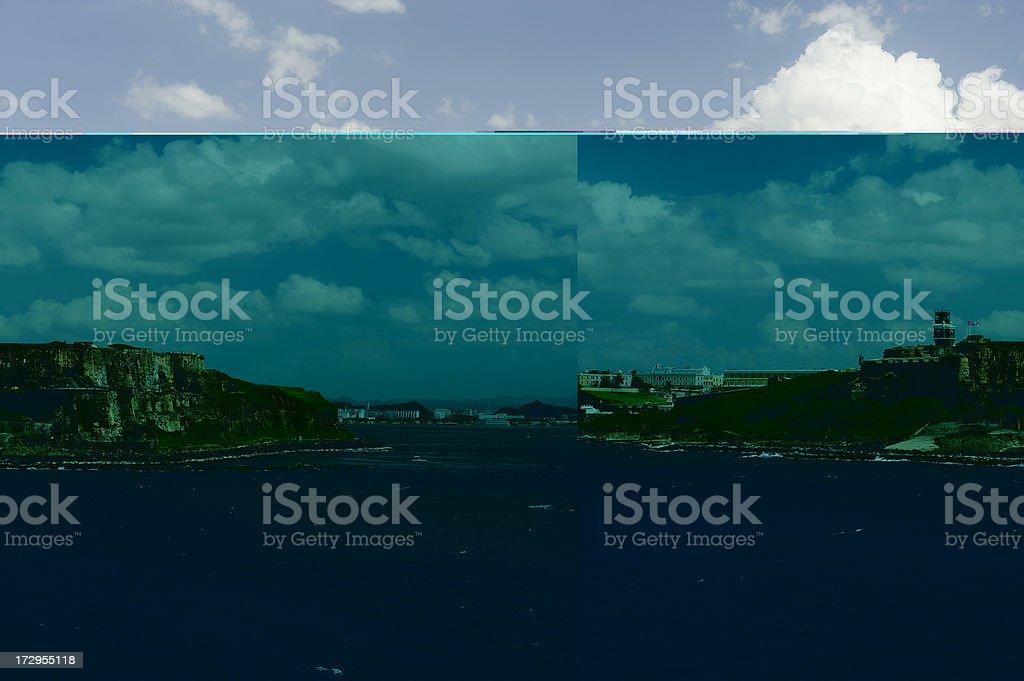 San Juan Fortress stock photo