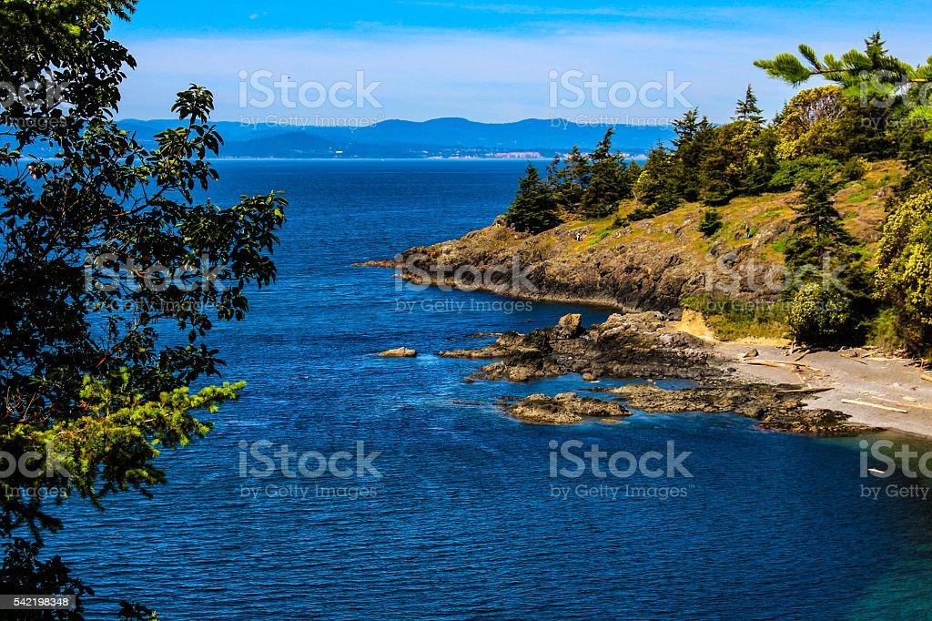 San Juan Island stock photo