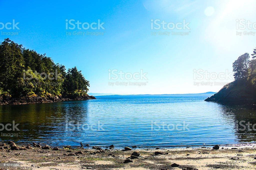 San Juan Islands stock photo