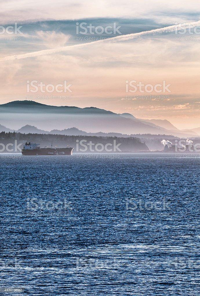 San Juan Islands, Washington stock photo
