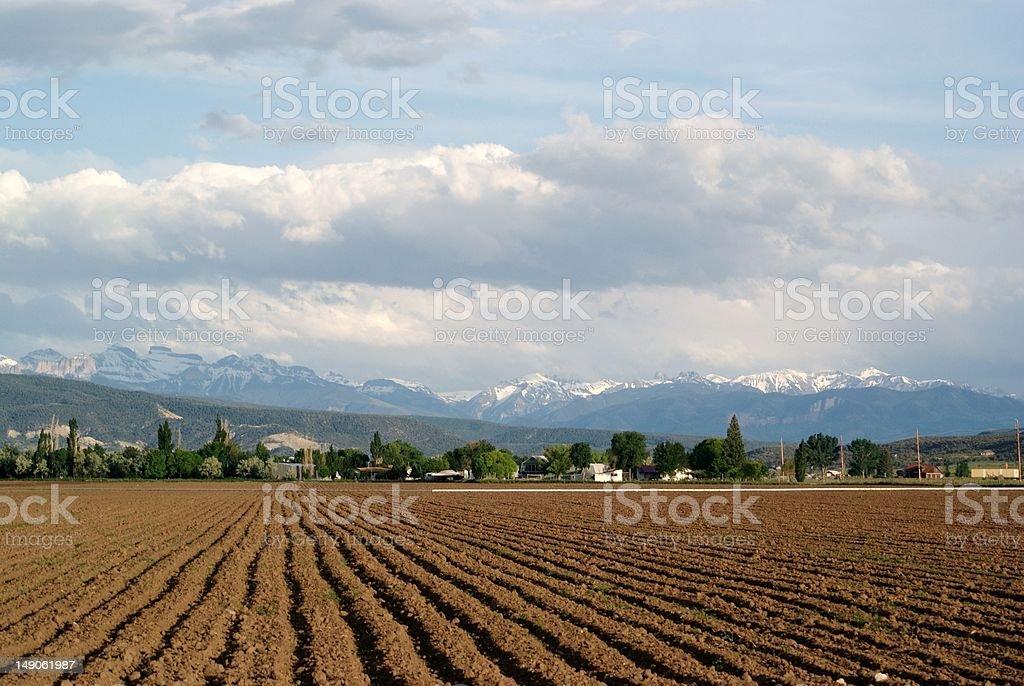 san juan mountains stock photo