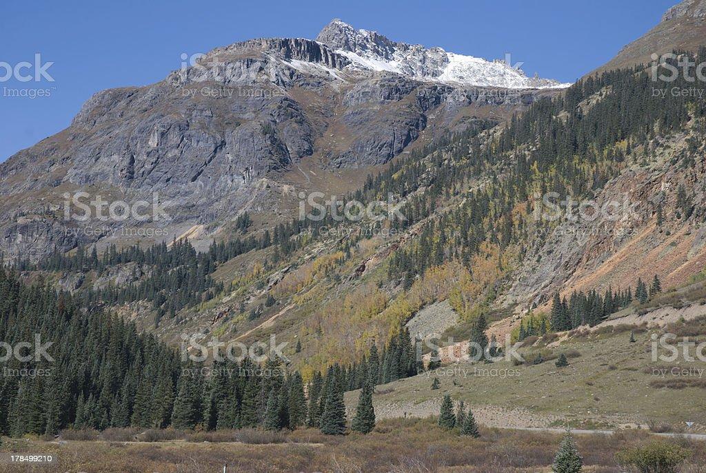San Juan Mountains royalty-free stock photo