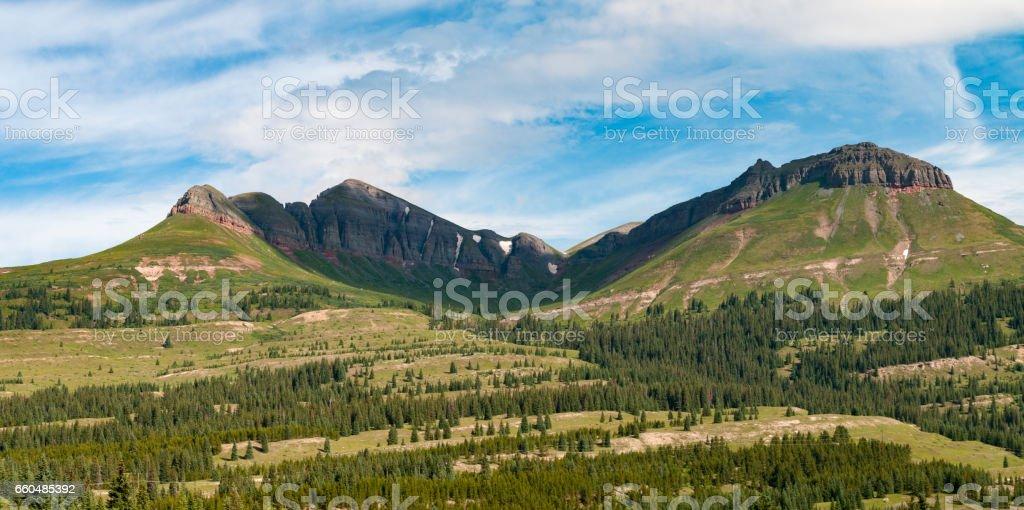 San Juan National Forest,  Colorado stock photo