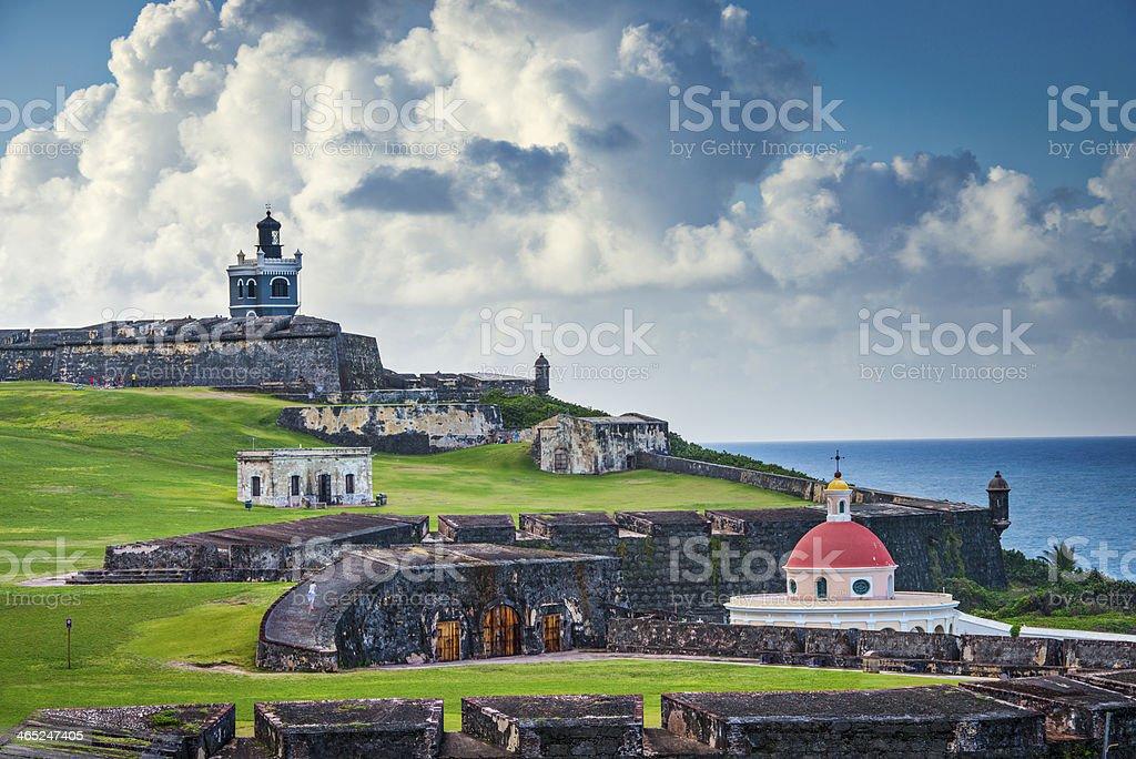 San Juan, Puerto Rico Fort stock photo