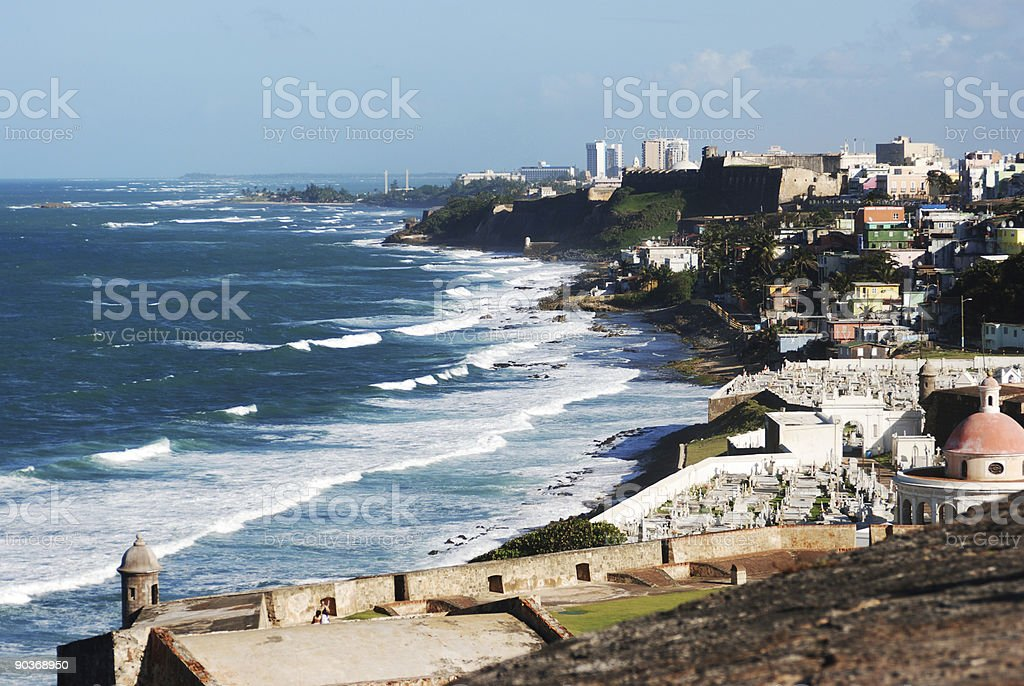 San Juan Puerto Rico royalty-free stock photo