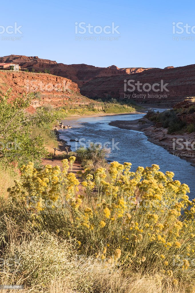 San Juan River stock photo