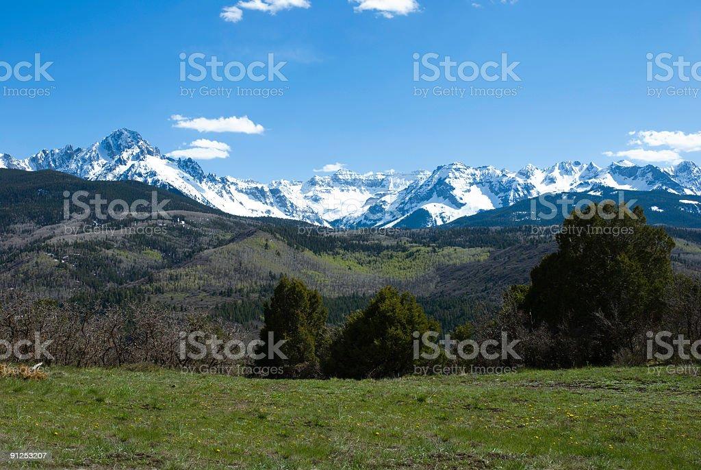 San Juan View royalty-free stock photo