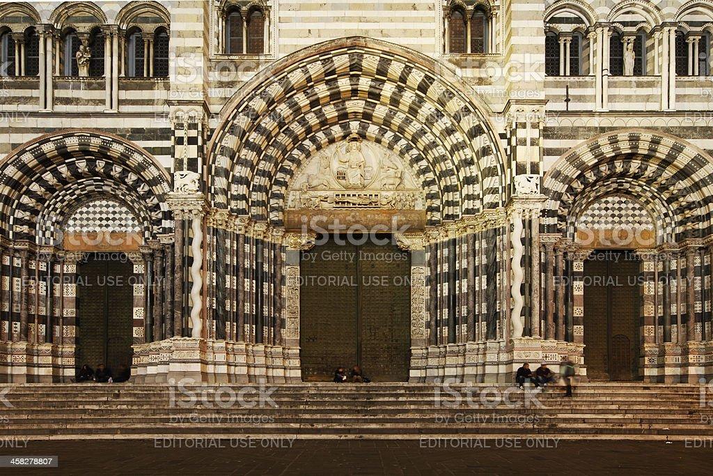 San Lorenzo Cathedral stock photo