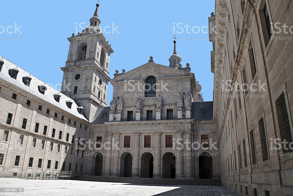 San Lorenzo de El Escorial, Madrid, stock photo