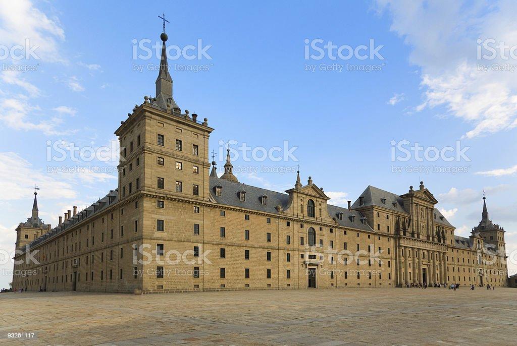 San Lorenzo Monastery in El Escorial, Madrid royalty-free stock photo