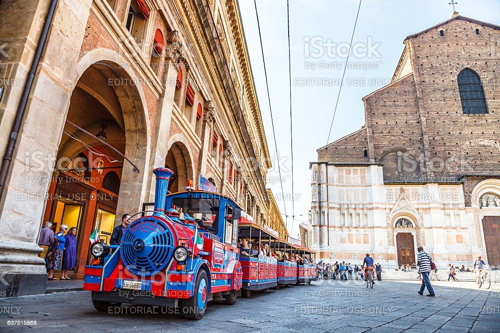 San Luca Espress Bologna stock photo