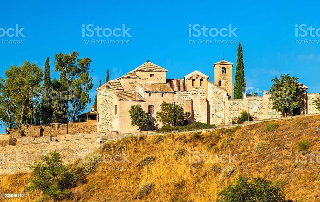 San Lucas Church in Toledo, Spain stock photo
