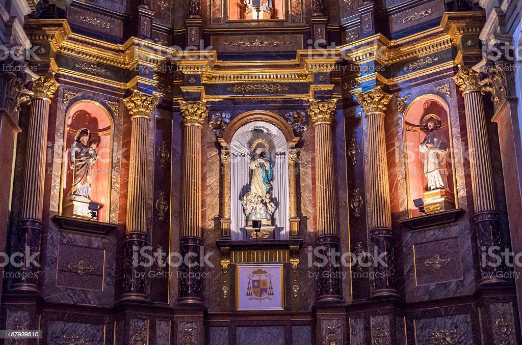 Catedral de San Luis-Argentina foto de stock libre de derechos